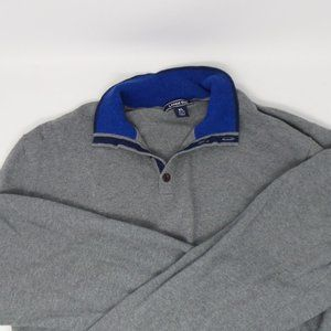 Men's Lands' End zip pullovers 2 pk bundle, XL